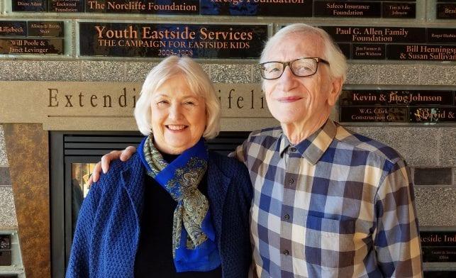 Carol and Peter Burger