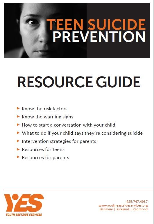 Suicide Prevention Resource Guide
